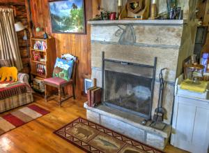 23-Guest Fireplace
