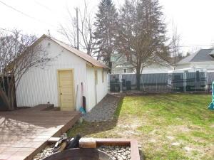 Backyard & Garage
