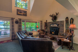Beautiful main living area with decks all around you to entertain a crowd or enjoy with just you!