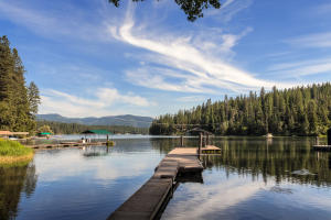 Hayden Lake is a natural alpine lake with incredible beauty, lots of coves and inlets and peaceful vistas