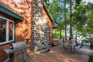 BBQ with friends and family in style while enjoying peaceful private lake living