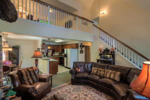 Open Kitchen, living dining nook and stairs to the loft and master suite retreat!