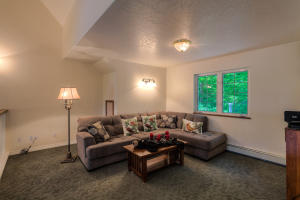 This can double as a rec room, exercise room, media room, office, bunk room or whatever works for you !