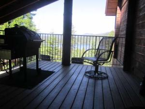 Covered Deck off Kitchen