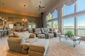 Very open feel with the 16 foot ceilings and massive windows. Perfect for the entertaining lifestyle!