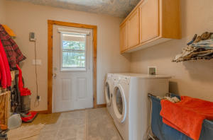 Laundry / Mudroom leads out to the back deck and yard