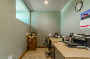 Office area in master suite
