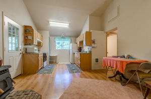 Guest house or additional living quarters. 1 bedroom, 1 bath and laundry room