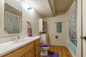 Bathroom in additional living area