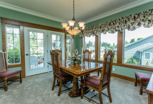 French Doors Lead to Front Covered Porch