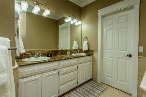 Granite Counter Tops-Double Sinks