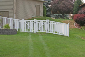 Nicely fenced for kids and pets.