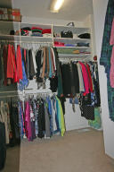 With closet system to help you organize.
