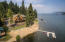 232ft of water frontage on nearly an acre and a half, close to town!