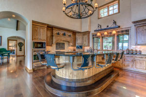 Artistically crafted to reflect the North Idaho setting