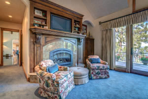 With Gas Fireplace and Entertainment Center