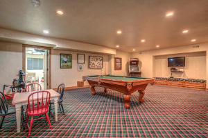 With plenty of room for playing pool, gaming, and all around fun!