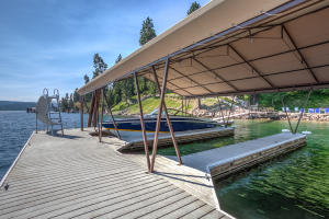 With three covered slips and two jet ski docks