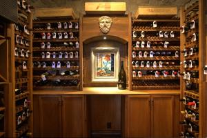Distinctive Custom-built 600 Bottle temperature controlled wine cellar! This is a true work of art in itself!