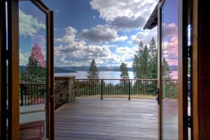 Doors out to your deck from master private suite on the main level