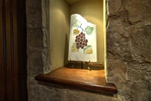 Artful cut outs to display art throughout the home. Well designed with extensive stone, wood work, inside and out.