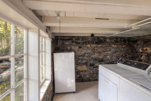 Full size washer and dryer in the Laundry room in the Cabin. Main house has laundry room too!