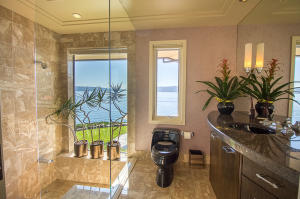 elegant main floor bathroom