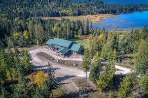 Bordering Chase Lake