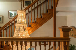 Chandelier at Grand Stair