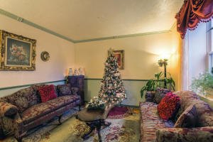 Parlor at Christmas