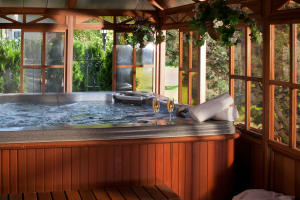 Covered Spa and Whirlpool