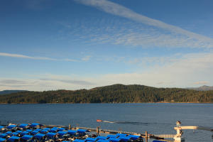 Downtown Looking to Lake Coeur d'Alene