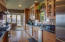 Completely remodeled with custom cherry cabinets and Thermador appliances