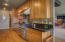 Galley Kitchen created for a Chef's culinary enjoyment with plenty of room for the Sous Chef, too!