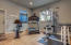 Spacious room with high ceilings for exercise and yoga