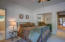 Spacious Bedroom with large closet ~ separate entrance to both bedrooms close by....