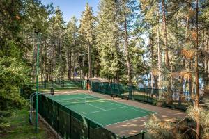 Lighted Community Tennis Court