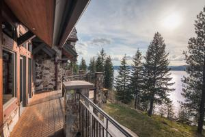 Wrap deck is perfect or all the views and outdoor extended living