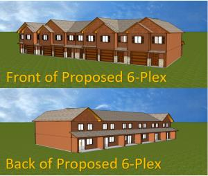 Back and Front 3-D Rendering