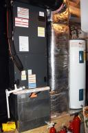 Furnace Room and Storage in Garage