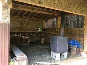 Inside Warming Hut