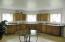 Main floor kitchen area