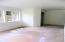 Daylight basement bedroom w/ closet in back