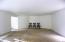 Daylight basement living room area