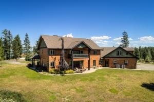 Enjoy the outdoors with the large open patio or covered deck