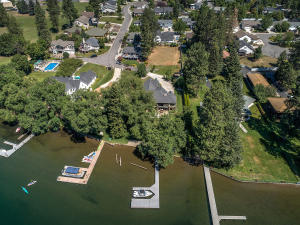 Waterfront home in a gated neighborhood, and notice the community pool!