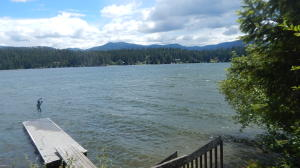 75ft. of Hayden Lake frontage