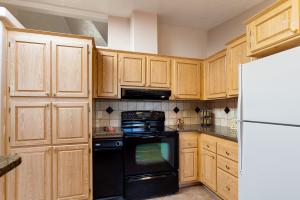 Ample kitchen storage and space