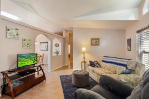 2nd living/family room inside front door.