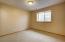 Bedroom in daylight basement